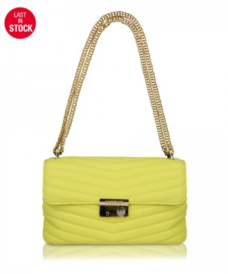 Yellow Giulietta Quilted crossbody bag