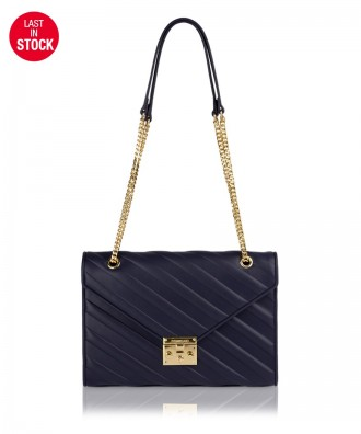 Pomikaki Diva crossbody bag navy blue