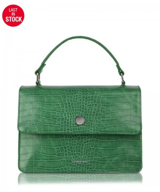 Green Gwen Croco handbag