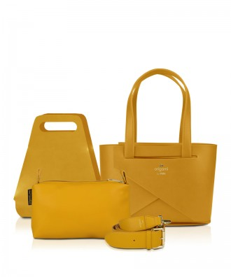 Pomikaki Origami small set Luxury Mustard
