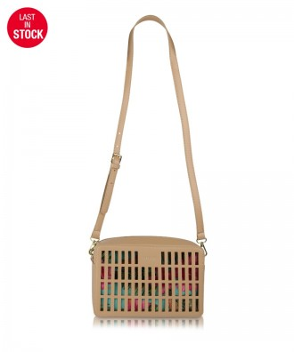 Cream Kirigami crossbody bag