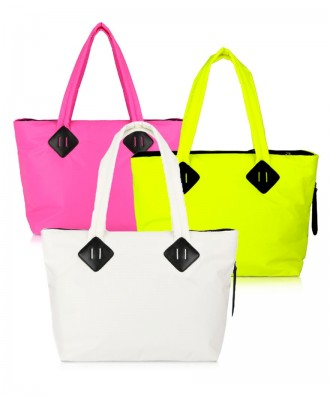 Shopper fluo Ri-flect big in OMAGGIO