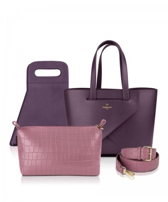 Set Origami MEDIUM LUXURY- colore VIOLA/LILLA