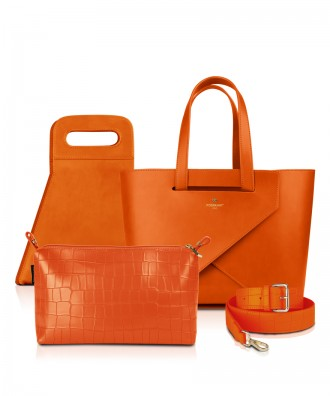 Set Origami MEDIUM LUXURY- colore ARANCIONE