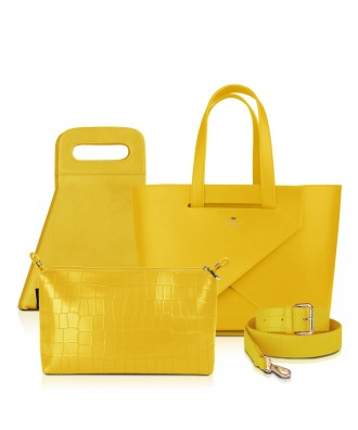 Set Origami MEDIUM LUXURY- colore GIALLO