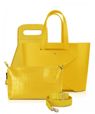 Set Origami LARGE LUXURY colore GIALLO